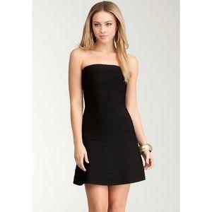 bebe Bandage Mini Dress Strapless Fit & flare